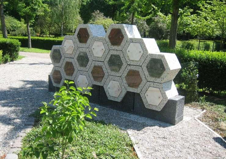 Betonnen Columbarium elementen